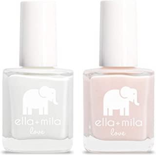 product image for ella+mila Nail Polish, Love Collection - French Mani Set (2-Pack)