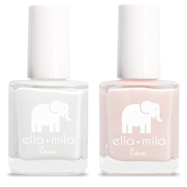 ella+mila Nail Polish, Love Collection - French Mani Set (2-Pack)