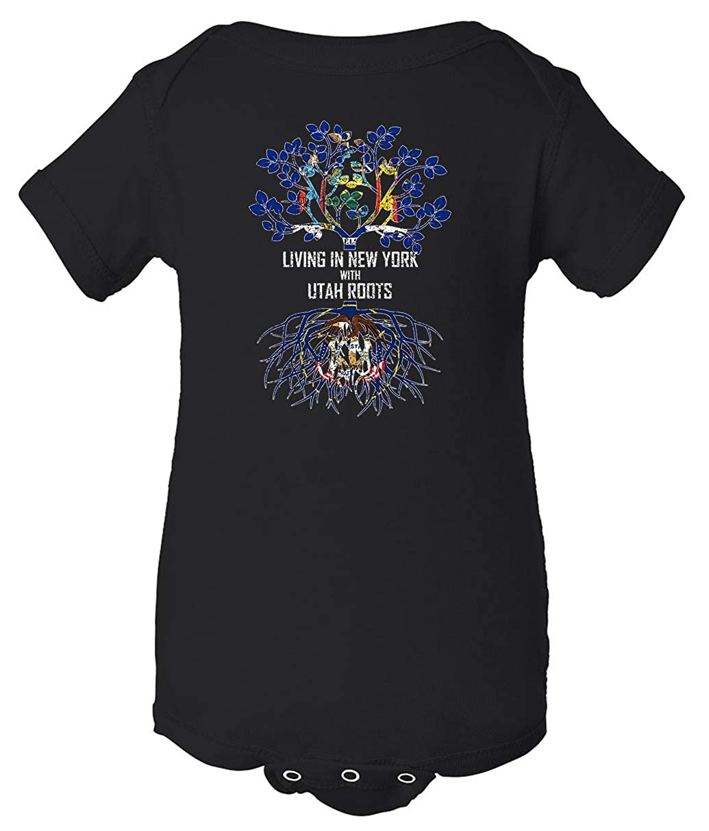 Tenacitee Babys Living in York Utah Roots Shirt