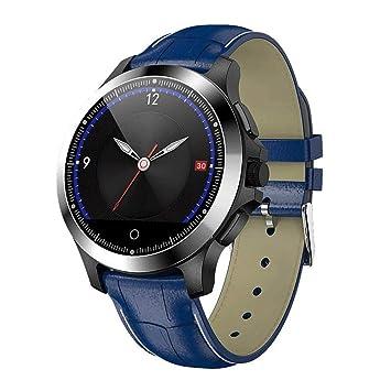 TDCQQ Smartwatch con deportes de ritmo cardíaco y sueño ...