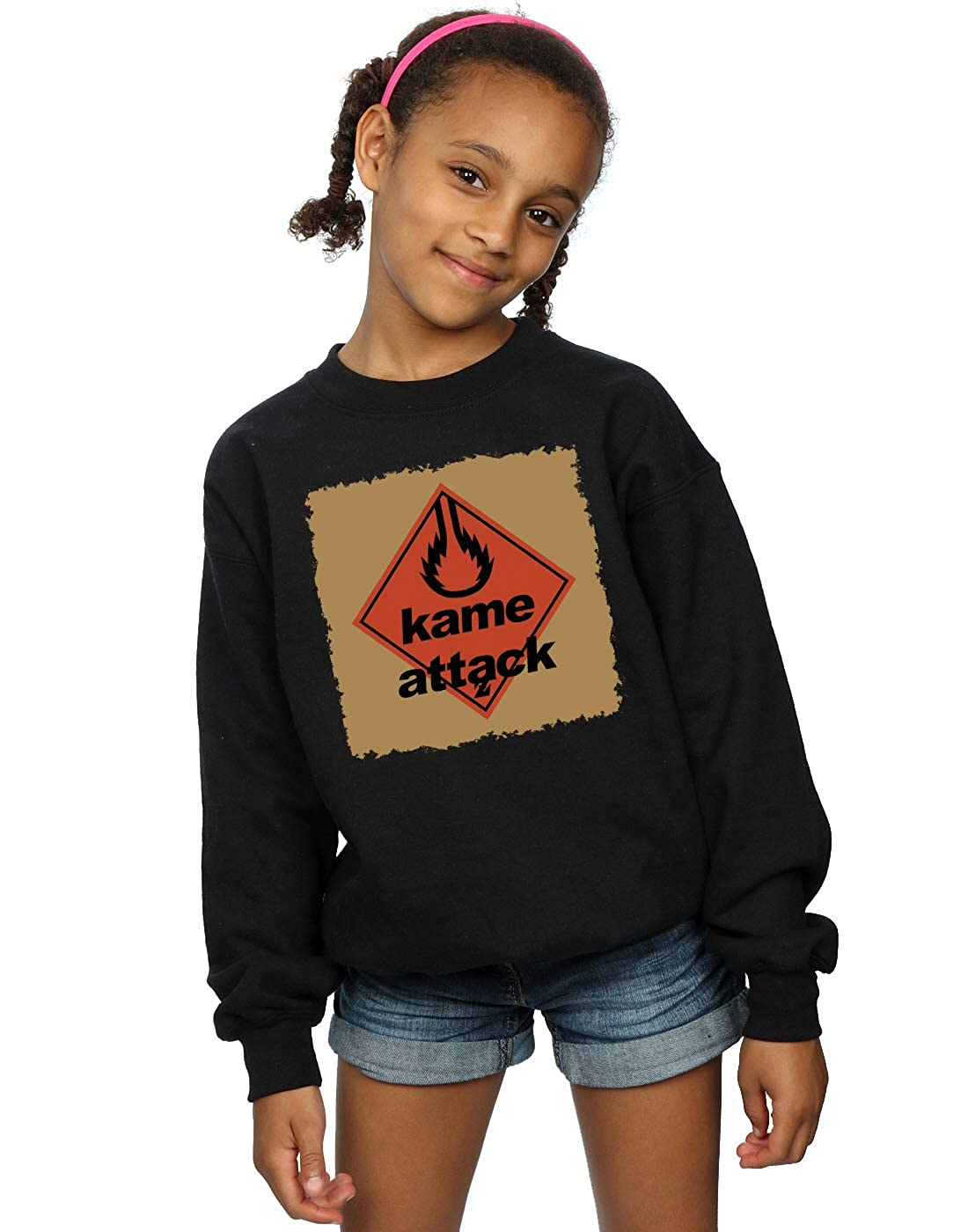 Absolute Cult Ntesign Girls Kame Attack Sweatshirt