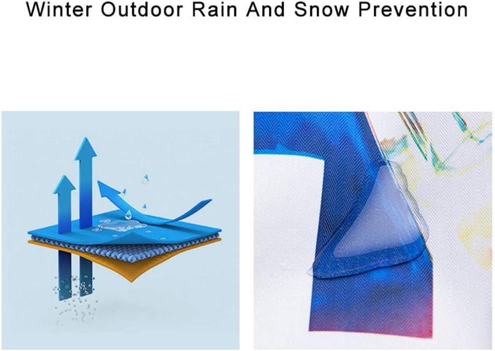 chivalrylist Chaqueta de esqu/í para Mujer Traje de Nieve Impermeable a Prueba de Viento Traje de esqu/í al Aire Libre Grueso y c/álido