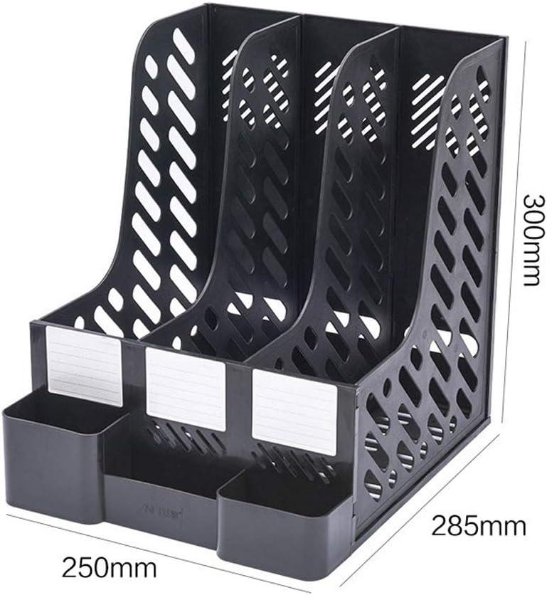 Desktop File Cabinet Plastic Drawer Office Simple Multi-Function Cabinet Storage Box Data Storage ZHAOSHUNLI Color : Gray