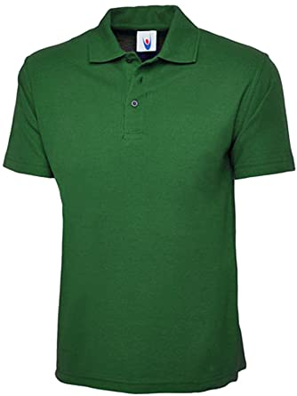 be41feaea Ladies Loose Fit Polo Shirt Pique Longer Length Size 10 to 28 Plus Premium  Plain Top: Amazon.co.uk: Clothing