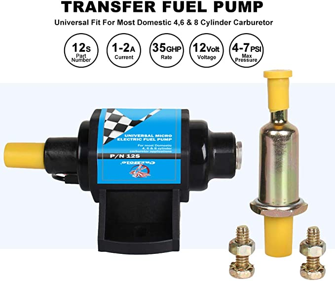 Electric Fuel Pump-CARB 4BBL Airtex E84070N