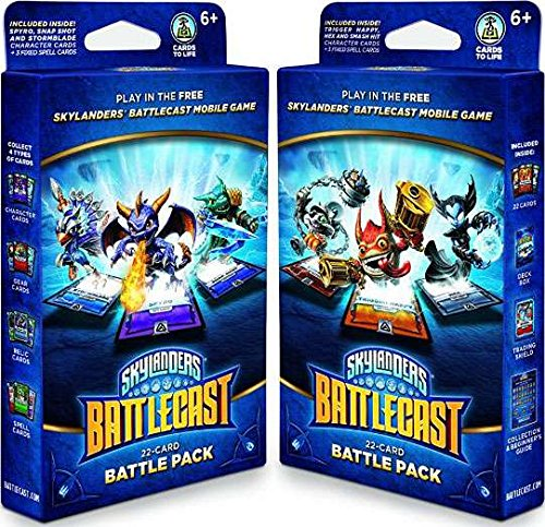 Skylanders Battlecast Set of Both Battle Packs (Activision)