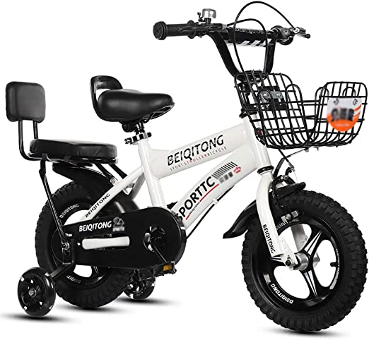 BAICHEN Bicicletas para niños Bicicleta para niños con Rueda de ...
