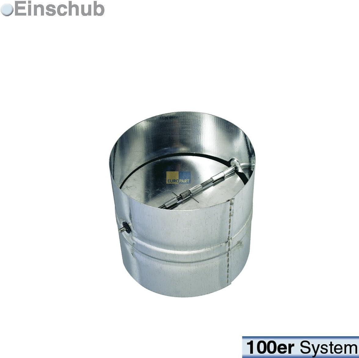 daniplus – Válvula antirretorno redondo Sistema 100 galvanizado: Amazon.es: Grandes electrodomésticos