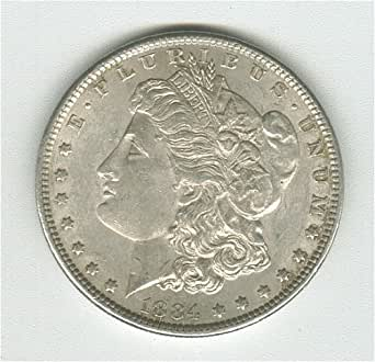 1884 Morgan Silver Dollar AU