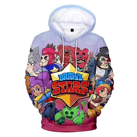 WUDUHUI Estrellas Pelea con Capucha suéter para Hombres y ...