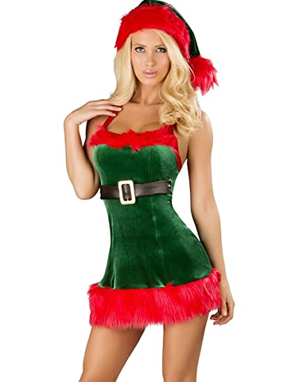 Image Unavailable - Amazon.com: Crazy Women's Sexy Christmas Costumes Lingerie Outfits