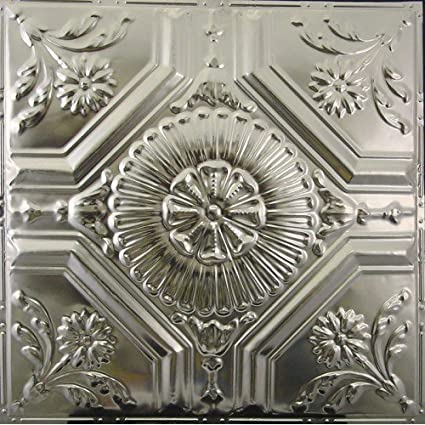 Amazon Decorative Tin Metal 40 X 40 Ceiling Tiles 40 Drop Fascinating Decorative Ceiling Tiles Coupon