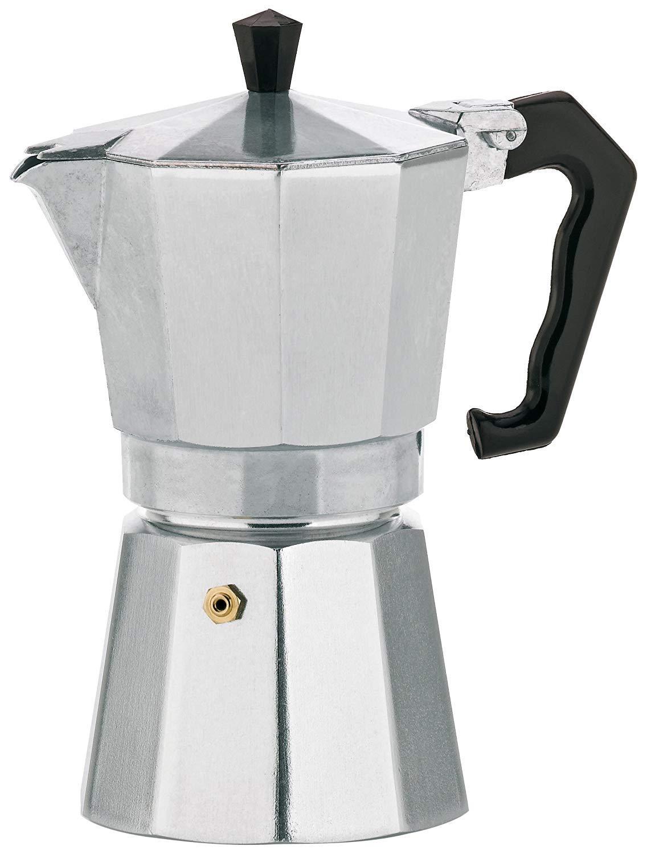 kela 10590 Espresso Maker, Aluminium, Silver, 8 x 8 x 13 cm