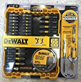 $80 Value - DeWalt 65pc. Screwdriving Set + 10x Magnetic Screw Lock