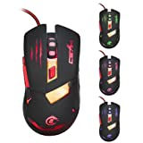 Mouse ,ZYooh 3200 DPI Optical USB Wired Gaming