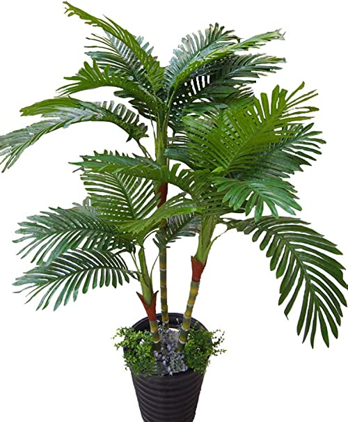 Palmier Artificiel 125 cm-Anti UV (intérieur et extérieur)