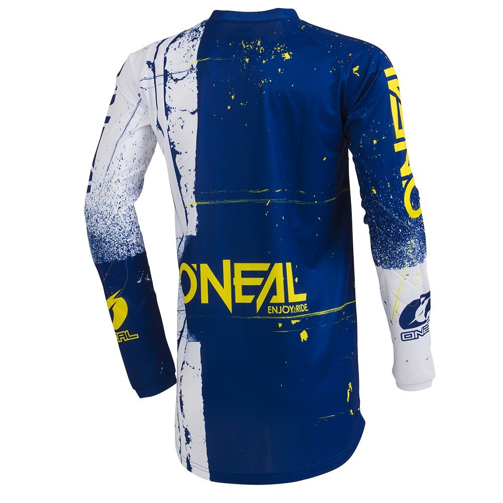 ONeal Mens Element Shred Jersey Blue Small