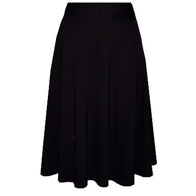 b540bf911a Amazon.com: Patrizia Luca Milano Womens A-line Skirt Black Extra ...