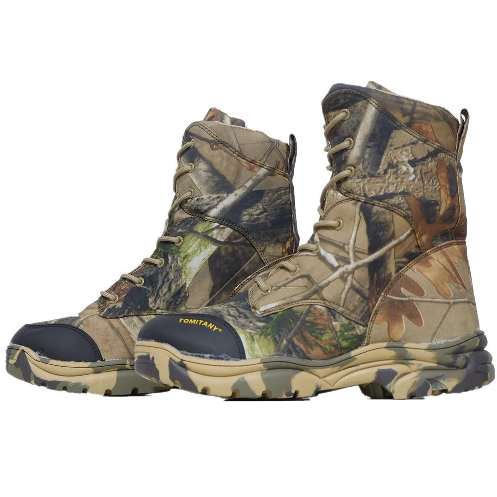 18da0a727678e Amazon.com | HARGLESMAN Men Camouflage Winter Waterproof Desert Combat Boots  Jungle Snow Outdoor Hunting Boot | Hunting