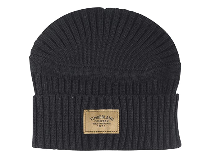 44c574d8598 Amazon.com  TIMBERLAND GULF BEACH RIBBED BEANIE B  Clothing