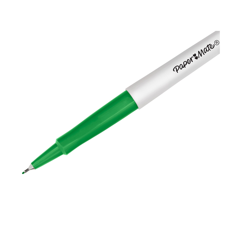 0.7mm Medium Point Paper Mate Flair Felt Tip Pens Candy POP /& Assorted Colours 24 Count
