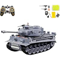 RCTecnic Tanque Teledirigido RC Tiger | Escala 1:18