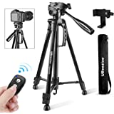 Camera Tripod, UBeesize 55-Inch Lightweight Aluminum Travel Tripod Stand for Canon Nikon Sony DSLR Digital Olympus Video…