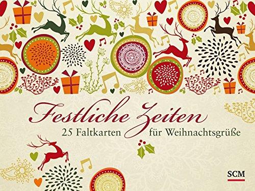 Festliche Zeiten: 25 Faltkarten für Weihnachtsgrüße