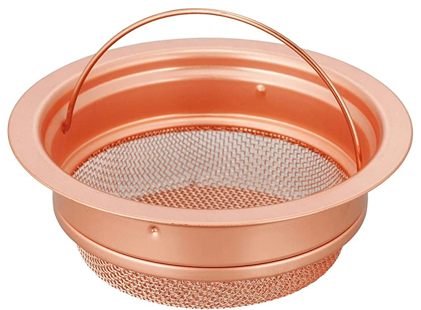 予測脱獄脱走SANEI 『排水口のゴミ受け』 流し排水栓カゴ浅型 銅製小 PH6970F-2-S