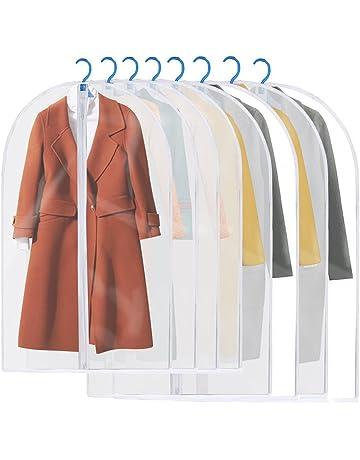 b88f7a326183a Housses de Vêtements, GEEDIAR Lot de 6 / 8 Couverture Lavable Transparent  Etanche Anti-