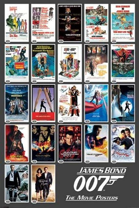 Pyramid James Bond 22 Movie Posters Wall Poster