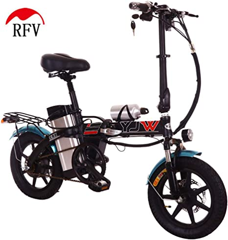 RFV Batería eléctrica de Litio de 14 Pulgadas, Bicicleta eléctrica ...
