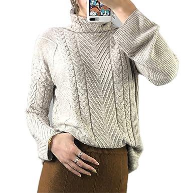 Sonderpreis für gesamte Sammlung wie man wählt Wenwenma Damen Mode Kaschmir Pullover Rollkragen Pullover ...