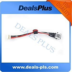 Cables AC DC Power Jack Socket W/Cable Harness for DELL INSPIRON 15R 5520 7520 WX67P 0WX67P - (Cable Length: Other)