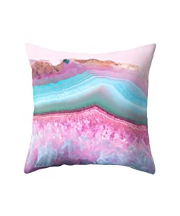 wintefei Modern Living Room Decoration Abstract Square Pillow Case Cushion Cover-9#