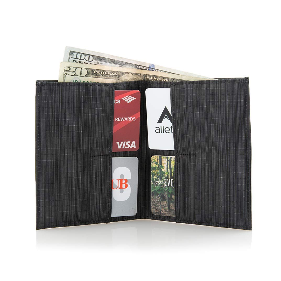 Allett Slim Leather Original Wallet - Black
