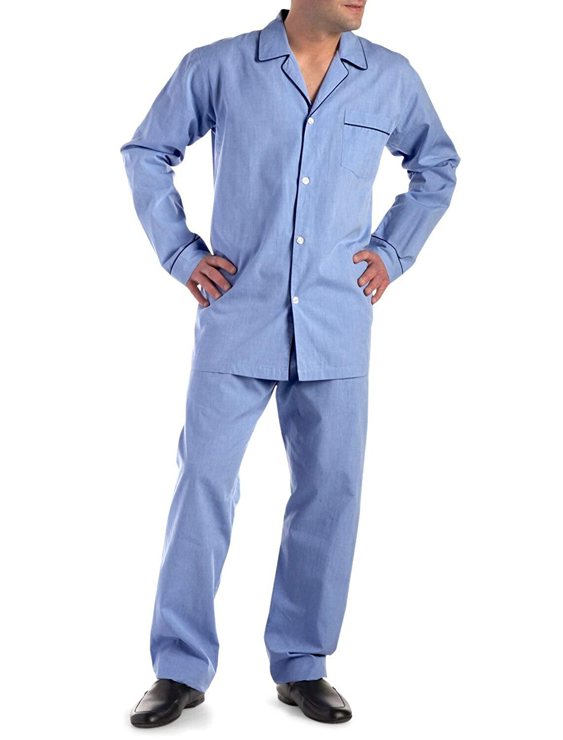 Rochester by DXL Big and Tall Cotton Pajamas