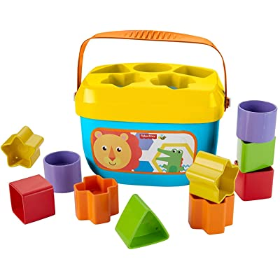Fisher-Price Baby's First Blocks: Toys & Games