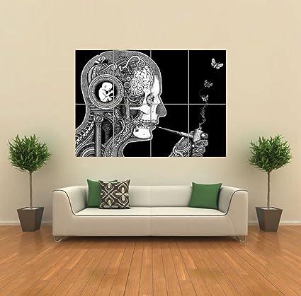 Amazon.com: Doppelganger33LTD PSYCHODELIC WEIRD ART GIANT POSTER ...
