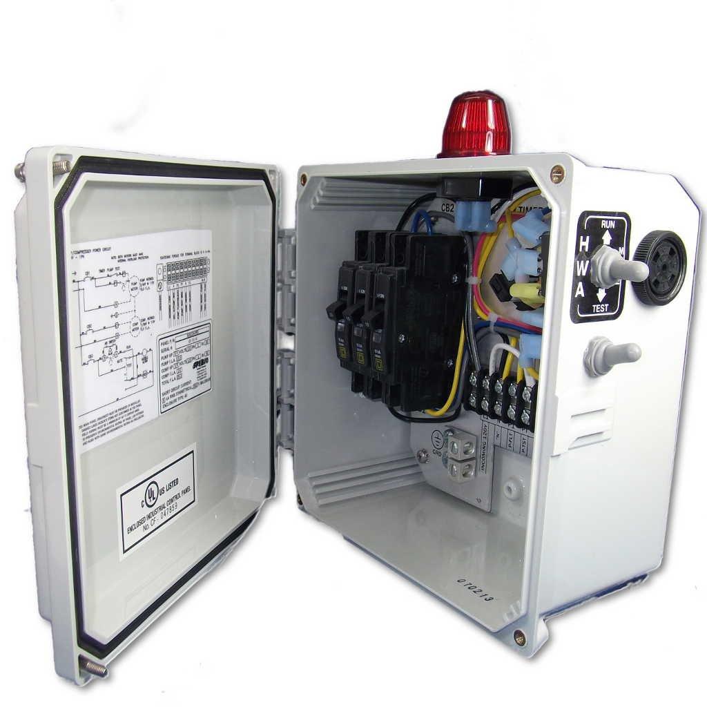 Spi Bio Septic Pump Control Panel No Timer Home Improvement Alarm Wiring