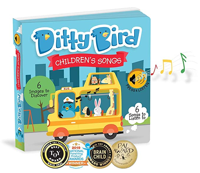 Our Best Interactive Childrens Songs Book For Babies Musical Toddler Sound Books