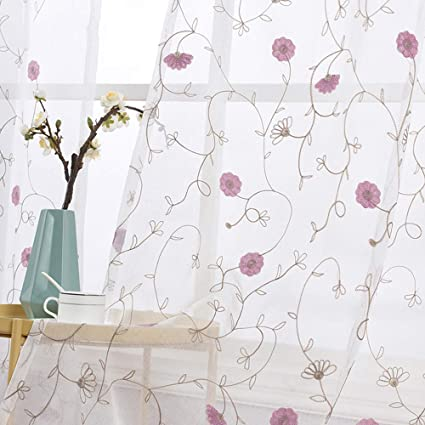 Curtains Buy Cheap Embroidered Curtains Green Sheer Fabrics Tulle Curtain Window Treatment Rustic Living Room Bedroom Modern Curtain Kitchen Short