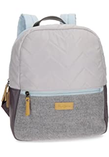 Pepe Jeans Yoga Red Casual Backpack: Amazon.es: Equipaje