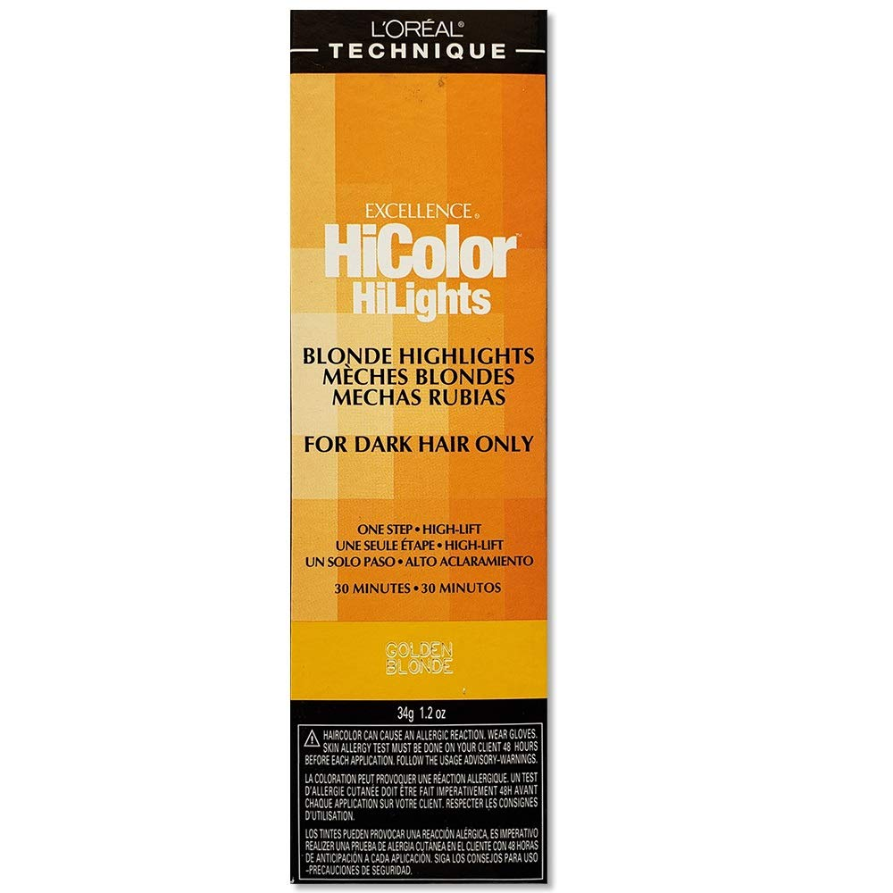 L'oreal Excellence Hicolor, Golden Blonde Highlights, 1.2 Ounce