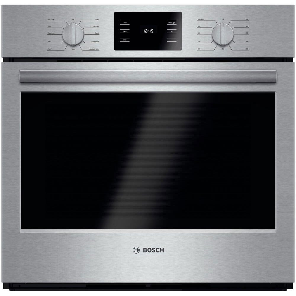 """Amazon.com: Bosch HBL5451UC 500 30"""" Stainless Steel Electric Single Wall  Oven - Convection: Appliances"""
