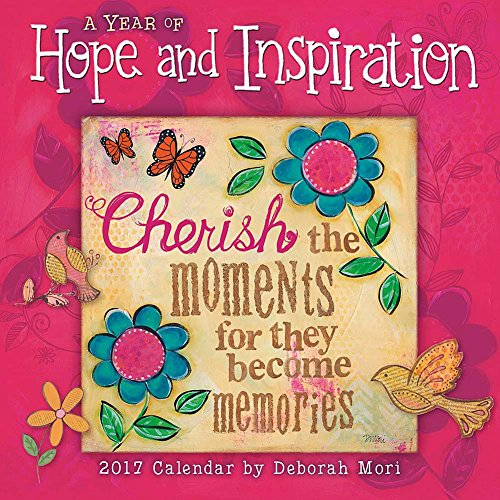 A Year of Hope & Inspiration 2017 Mini/Small Wall Calendar