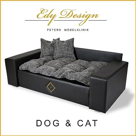Perro sofá cama para perro gato cama Dog & Cat – Nuevo de XXL piel sintética