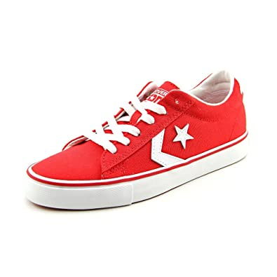 7122c3772252 Image Unavailable. Image not available for. Color  Converse Pro Leather Ox Womens  Size 6 Red Textile Sneakers Shoes