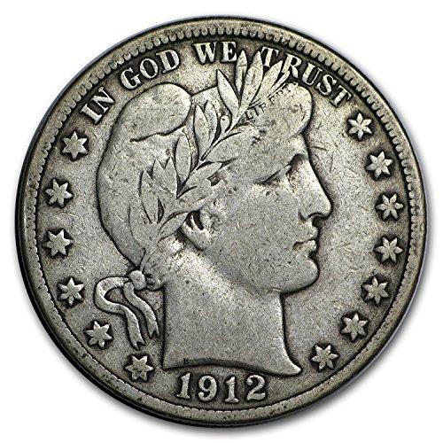 1912 D Barber Half Dollar Fine Half Dollar Fine