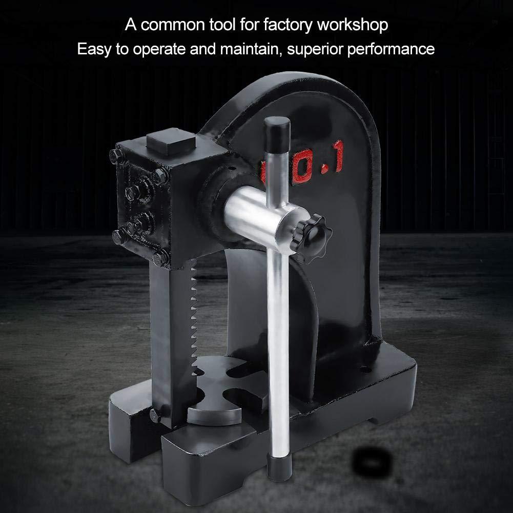 1T Manual Desktop Hand Punch Press Machine Metal Arbor Press Lever Bench Tool Arbor Press